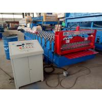 China Corrugated Profile Roofing Sheet Bending Machine / Roll Forming Machine on sale