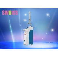 Cheap SWOISS Co2 Laser Beauty Equipment , White / Blue Laser Vigina Tightening Machine for sale