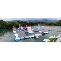 Buy cheap HK Inflatable Floating Water Park Games Manufacturer / Inflatable Water Obstacle from wholesalers
