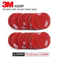 Cheap Double Sided Adhesive Acrylic Foam 3M 4229P Kiss Cut Tape 75MM Circle Gray 3M Automotive Car Tape for sale