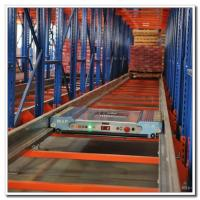 Cheap Fully Automatic Warehouse Radio Shuttle Racking System Powder Coating Surface for sale