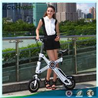 Cheap Light Weight Foldable Electric Bicycle with Seat , Electric Bike Kit Lithium Battery for sale