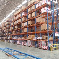 Buy cheap Warehouse Heavy Duty Steel Racking Selective Pallet Rack Storage Systems from wholesalers