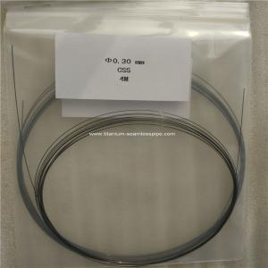 Cheap nitinol wire ,titanium shape Memory alloy wire ,nitinol memory wire dia 0.3mm for sale
