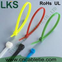 Cheap LKS UV protection and cold-resistance self-locking nylon cable ties with different colors for sale