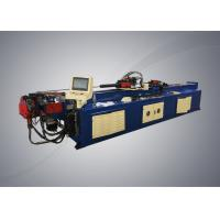Cheap Automatic pipe bending machine with PLC system controller for steel racks manufacturing for sale