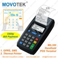 Cheap Movotek Prepaid Electricity Vending Machine GPRS POS Terminal for sale