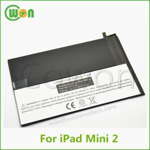 China 3.7V 6471mAh Replacement battery for iPad Mini 2 battery iPad mini 3 battery A1489 A1512 A1490 A1491 A1599 A1600 on sale
