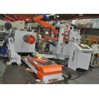 Buy cheap 3 In 1 decoiler straightener feeder Thickness 5Rolls Coil Handling Equipment from wholesalers