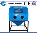 Cheap Jewelry Surface Treatment Wet Sandblasting Cabinet Φ13mm*23mm Blasting Hose Dia for sale