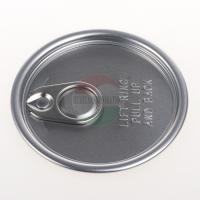 Cheap Aluminium Ring Pull Easy Open Can Lid Clear / Blue / Green Customized for sale