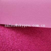 Cheap 2mm Thickness EVA Glitter Foam Sheet OEM School Lightweight Foam Sheet Comfortable for sale