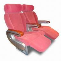 China Car Seats with Textile Fabric, Back Handle and Adjustable Backrest Angle, Suitable for Luxury Bus on sale