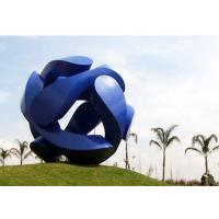 Cheap Giant Painted Stainless Steel Outdoor City Sculpture for Public for sale
