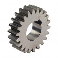 Cheap Forging, Zinc Plating Starter Drive Gear Alloy Steel Straight Tooth Spur Gear for sale