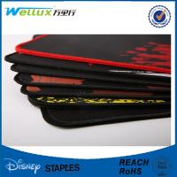 Custom Printed Rubber Mouse Pad / Sublimation Mousepad with Stitching Edge