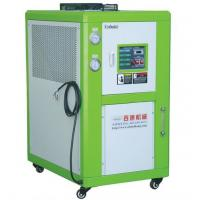Cheap Freestanding Wheeled Water Cooled Industrial Chiller , 30W Air Cooled Water Chiller for sale
