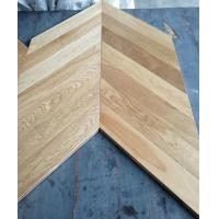 Cheap Chervon Oak engineered wood flooring, AB grade, brushed and natural color for sale