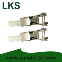 Cheap LKS-400mm Universal Stainless Steel Clamping Ties for sale