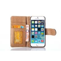 Cheap Best Price Wallet Leather Case Iphone 6 Case Real Leather Flip Cover for sale