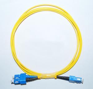 Cheap OEM SC/APC-SC/APC Singlemode Fiber Optic Patch Cord in communication equipment for sale