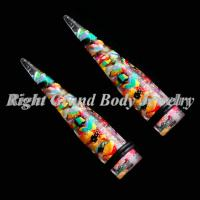 Cheap 7mm Ear Stretchers Tapers Plugs 0 Gauge for sale