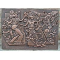 Cheap Classical Style Wall Art Bronze Relief Casting Surface Finish Anti Corrosion for sale