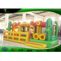 Cheap Wonderful Toddler Bouncy Castle Slide Outdoor Inflatable Obstacle Course for sale