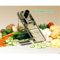 Cheap Stainless Steel Mandolin Vegetable Slicer Equipment For Lace - Cut, Crinkle - Cuts QVC-2 for sale