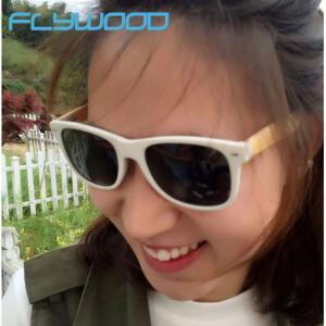 China Summer Hot sale Bamboo Sunglasses TAC Mirror Polarized Sunglasses Bamboo Pins Eyewear on sale