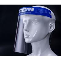 Cheap High Impact Strength Protective Face Shield With Comfortable Sponge Forehead Pad for sale
