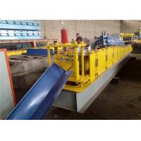 Cheap Step Tile Ridge Cap Roll Forming Machine , Metal Roofing Equipment3-10m / Min for sale