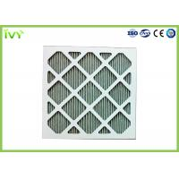 Quality Folded Activated Carbon Air Filter High Carbon Content With Aluminum Mesh Face wholesale