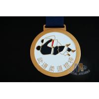 Quality Round Metal Soft Enamel Swimming Custom Sports Taekwondo Medals Marathon Events Medallion wholesale