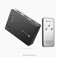 Cheap Gold Plated Female 60Hz 18Gbps Audio Video HDMI Switch for sale