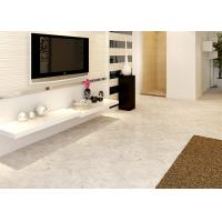 Cheap Customize Marble Grain Spc Flooring Tiles 100% Recyclable Sound Absorption for sale