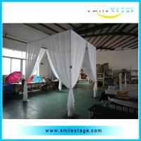 Cheap Aluminum event wedding backdrop stand pipe drape for sale