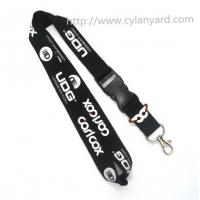 China Office supply business id badge holder lanyards, identification neck lanyards, on sale