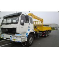 Cheap 12ton telescopic boom truck mounted crane for sale for sale