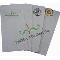 White Color Custom Printed Mailing Envelopes , Personalized Mailing Envelopes