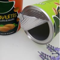 Cheap Easy Open Kraft Paper Cans For Peanut / Cashew Nuts / Pistachios for sale