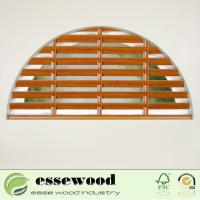 Cheap Adjustable Australia Indoor Wood Basswood Plantation Window Shutter for sale