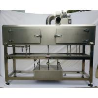 Cheap sleeve labeling machine with label shrinking tunnel and steam generator for sale