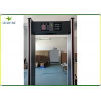 Cheap Infrared Sensor Metal Walk Through Gate 18 Detection Zones Alarm In Hospital Entry for sale
