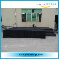 Cheap Portable Aluminum Plywood Stages For Outdoor Concerts for sale