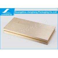 Cheap Hot Stamping Cosmetic Packaging Boxes Gold Gift Environmentally Friendly Packaging for sale