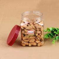 Quality Eco - Friendly 20oz Square Pet Jar For Nuts Packaging 660ml ISO 9001 wholesale
