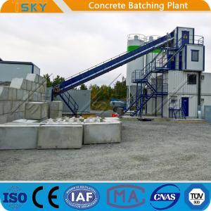 Cheap PLD4800 Aggregate Batcher HZS180 Concrete Batch Mix Plant for sale