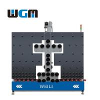 Cheap 10KW Glass Processing Machines , Glass Loading Table PLC Control System for sale