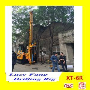 Cheap XT-6R CHINA popular multifurctional  full hydraulic Top Head RC core sampling drilling rig for sale